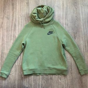Nike Rally Funnel Neck Cowl Neck Hoodie